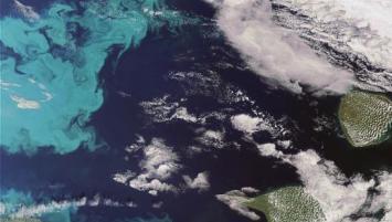 Image satellite du Pôle Mer Bretagne Atlantique