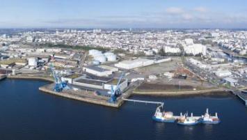 Un nouveau poste d'amarrage pour le port de Lorient