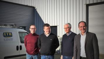 E.T.R Electricité est dirigée depuis 2009 par Gilbert Hernott. Celui-ci vient de céder son entreprise à Mickael Hermann, Lauréat Réseau Entreprendre Bretagne.