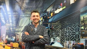 Erwan Huguet, restaurateur brestois, lance Binder