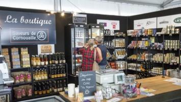 Saveurs de Cornouaille, la marque s'impose sur le village de la course Solitaire du Figaro