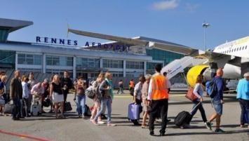 Aéroport de Rennes , une fréquentation en hausse  de 13 % sur un an