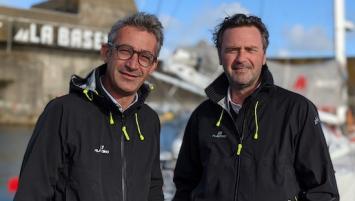 Yann Cornec, responsable de la Division Sécurité et Yann Bouctot, directeur général du groupe Alliance marine.