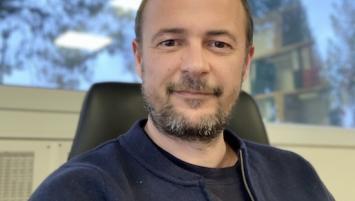 Arnaud Richter, dirigeant des Transports SLTI à Quimperlé (29).