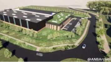 C'est sur un terrain de 18 000 m² acquis auprès de Grand Paris Aménagement que le Groupe Bardon va construire ce nouveau bâtiment d'une surface de 4 800 m².