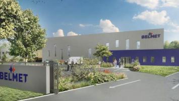 Cinq millions d'euros ont été investis dans cette nouvelle agence Belmet qui prendra ses quartiers à Châteaubourg situé à une trentaine de kilomètres de Rennes