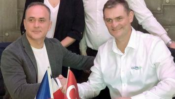 Ali Ozbek (BETA TARIM) et Erwan Gilet (Groupe CCPA).