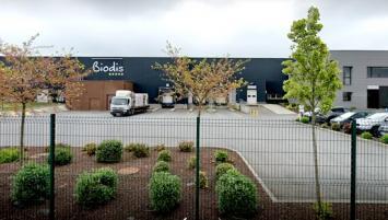 Biodis a récemment doublé sa surface de stockage pour atteindre 10 000 m².