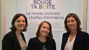 De g à d, Géraldine Cloërec, Laurianne Le Paih et Marie Eloy