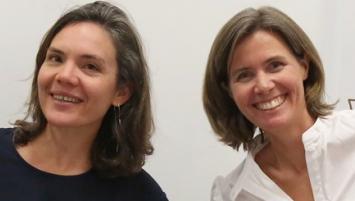 Géraldine Cloerec, directrice des opérations et Marie Eloy , présidente de Bouge ta Boite