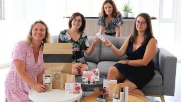L'équipe Cosmaé, marque bretonne de cosmétiques à faire soi-même.