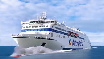 Brittany Ferries investit dans des navires hybrides, à propulsion GNL/électrique