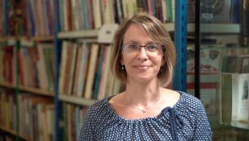 Laure Le Maréchal, directrice administrative de Book Hémisphères