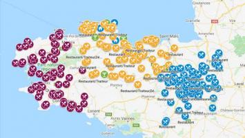L'Union des métiers des industries de l'hôtellerie (Umih) Bretagne propose une carte interactive qui recense les établissements pratiquant la vente à emporter ainsi que les hôtels ouverts.