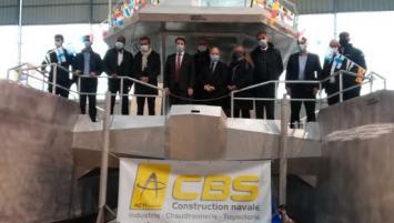 Loïg Chesnais-Girard est venu présenter la feuille de route sur l'hydrogène renouvelable en Bretagne