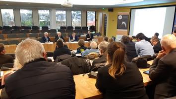 L'assemblée constituante a été introduite par Thierry Troesch, Président de la CCI et Marc Binnié, président fondateur d'APESA France