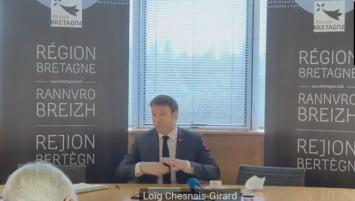 Voeux 2021 de Loïg Chesnais-Girard à la presse