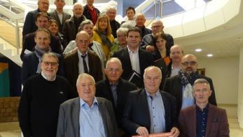 Tous les partenaires du CIP réunis le 11 avril à la CCI des Côtes d'Armor pour lancer le dispositif