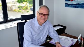 Seul aux commande Commespace (Plérin-22) depuis 2012, Philippe Guénot  prépare l'avenir