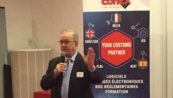 En 35 ans d'existence, Conex s'est fait un nom dans l'univers du traitement informatisé des procédures douanières. Alban Gruson, son PDG, ainsi qu'une partie de son équipe était ce jeudi 6 février à la CCI Ille-et-Vilaine,