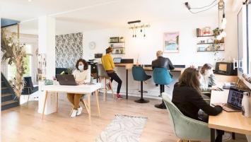 A la fois espace de travail et lieu de vie, Good Place a Cesson-Sévigné est un des 40 espaces de coworking recensé par le site Internet