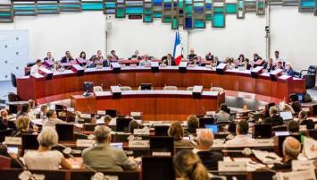 Hémicycle du Conseil Régional de Bretagne