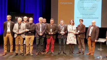 Sur les 20 entreprises qui concouraient à cette deuxième édition, cinq ont reçu un prix: Ekko Pincemin (22), Remorques Chevance (22) , Stirweld (35) Emeraudes Moteurs Systemes (35) et Adaf Somatherm (35).