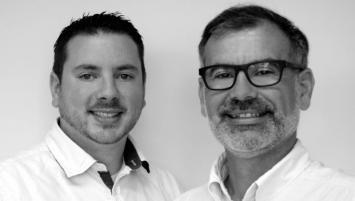 Dirigée par les ingénieurs Yvan Camuset (président à d sur la photo) et François Bousseau (DG), spécialistes en semi-conducteurs et électronique, Deling développe des éclairages Led originaux.