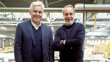 Philippe Roué et Edouard Lefébure, cofondateurs d'e-loft à Ploufragan (22)