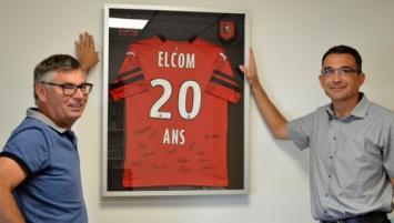 Elcom à Pacé : Michel Piederrière et Jean-André le Carré associés depuis quatre ans