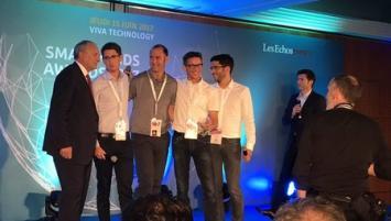 Parmi 60 start-up candidates, WaryMe a remporté le prix « coup de cœur » de la part de Philippe Monloubou, Président du Directoire d'Enedis.