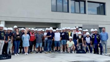 Exem emploie une cinquantaine de collaborateurs sur son nouveaux site à Miniac-Morvan, près de Saint-Malo