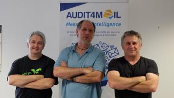 Morgan et Fabien Clément et Jérôme Deniau ont créé Move4ideas spécialisée dans les logiciels business intelligence (BI ou Big data), notamment pour l'audit et la traçabilité des messageries d'entreprise.