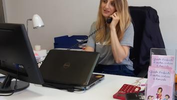 Sabrina Le Goffe, codirigeante de l'agence Family Sphère Brest