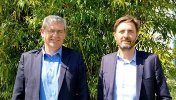 Thierry Girard et Vincent Bobot, respectivement Directeur et Responsable Pôle formation à la CCI Ille-et-Vilaine