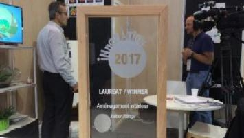 Franceinnov vient de recevoir la médaille d'argent à Batimat pour sa peinture thermorégulante.
