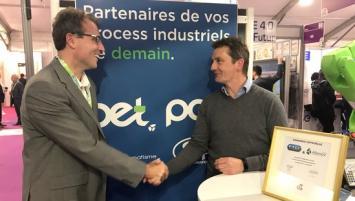 Vincent Rault , Président d'Altenov et Yann Febvre, dirigeant-fondateur de FTCI étainet présents ce 12 mars au CFIA à Renns pour sceller leur rapprochement