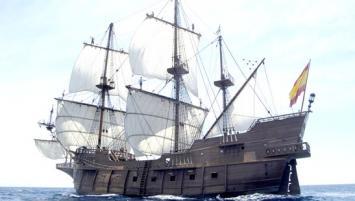 le Galeon Andalucia, réplique d'un galion espagnol du XVIIe siècle, fera escale au port du Légué, du 18 au 23 juillet 2019.