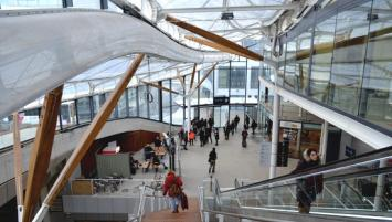 Le chantier de la gare de Rennes touche à sa fin. Démarrés en septembre 2015, les travaux s'achèveront en février 2019.