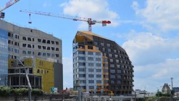 Le groupe Legendre construit actuellement Identity, un ensemble de trois bâtiments  situé au coeur d'EuroRennes, le nouveau qautier d'affaires de la gare