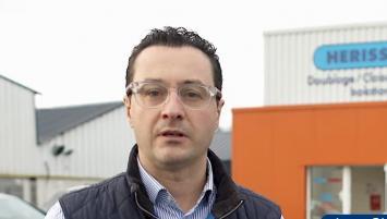Jean-Christophe Josse a repris la société Hérisson à Quevert en 2016