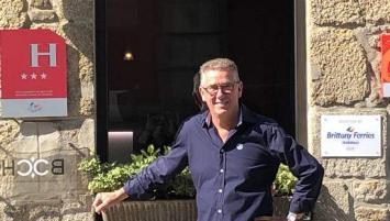 Guillaume Postel a repris l'hôtel du Château en janvier 2019