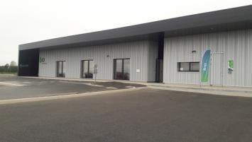 ID Automation emménage dans ses nouveaux locaux, à Plumelin