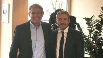 Pascal Bréchon, Président de CECIA Ingénierie et Patrice Lafargue, Président du Groupe IDEC