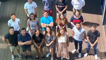 L'équipe Imagina : de 3 à ses débuts, la start-up réunit aujourd'hui plus de 20 collaborateurs.