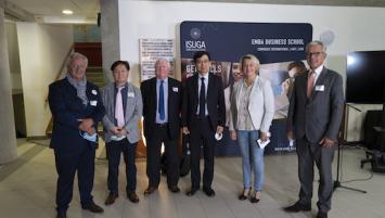 Inauguration de l'Institut Roi Séjong Quimper sur le campus de l'EMBA Business School