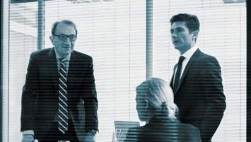 Felix Jolivet ( à gauche) a cédé son cabinet JTB & Associés à David Robert (à droite)