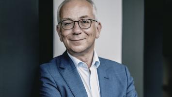 Julien Carmona, président du Crédit Mutuel Arkéa