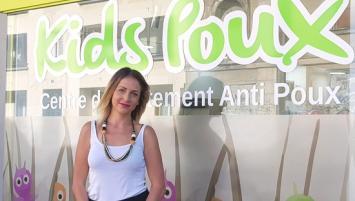 Betty Vinetot a ouvert son centre Kids Poux , à Rennes, le 5 septembre 2018, en pleine rentrée des classes.