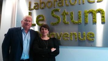 Sis à Larmor-plage, les Laboratoires Le Stum ouvrent un espace conférence et recrutent